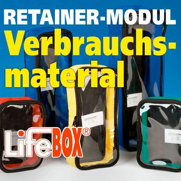 Lifebox Retainer Modul Verbrauchsmaterial