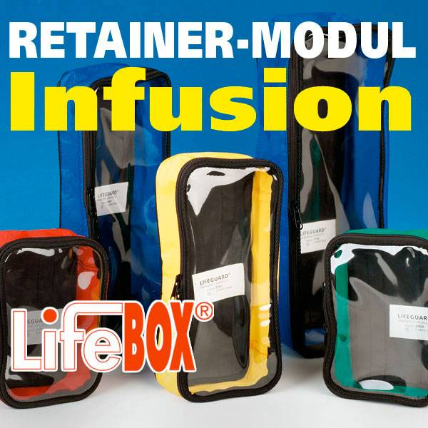 Lifebox Retainer Modul Infusion
