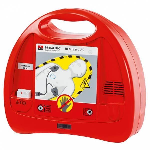 PRIMEDIC HeartSave AS (Batterie) Defibrillator (Sprachpaket DE_GB_ES_FR)