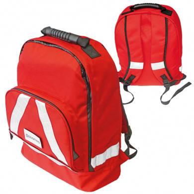 Erste Hilfe Rucksack rot mit Komplettfüllung ÖNORM Z 1020