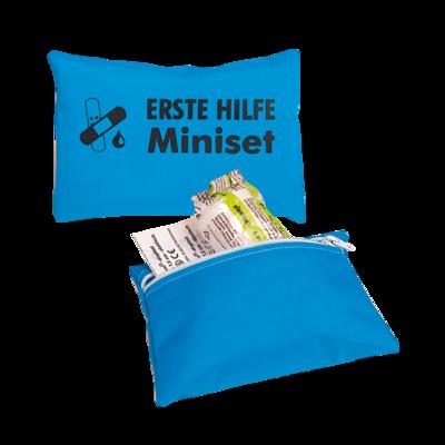 Erste Hilfe Miniset blau