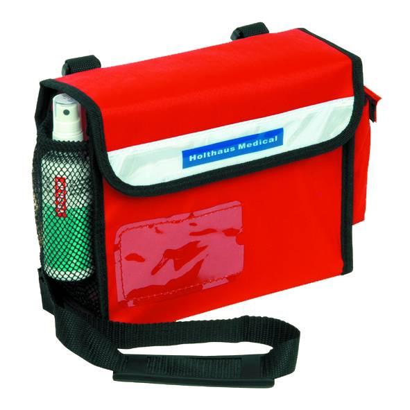 Sanitätsumhängetasche leer - gefüllt ÖNORM Z1020 1
