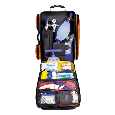 Söhngen NumberOne Notfallrucksack orange gefüllt Modul A+B+O2/2L
