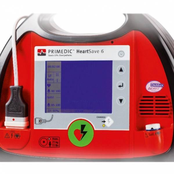 PRIMEDIC HeartSave 6 (AkuPak LITE) Defibrillator