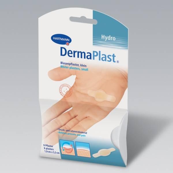 DermaPlast EFFECT Blasenpflaster 19 x 55 mm, in Plastikbox (6 Stck.)