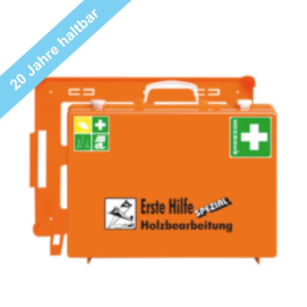 Söhngen Erste Hilfe Koffer Holzbearbeitung ÖNORM Z1020 mit Erweiterung Holzbearbeitung