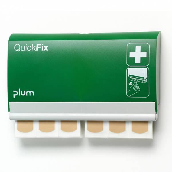 Plum QuickFix Pflasterspender mit 90 wasserfesten Pflastern, 7,2x 2,5cm