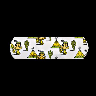 aluderm®-aluplast Indianer Strip 1,9 x 7,2 cm, einzeln