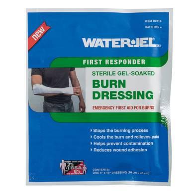 WATER-JEL Spezialverband/Gelkompresse für Verbrennungen, 10 x 40 cm, steril