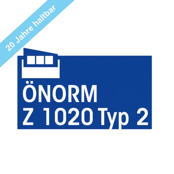 Komplettfüllung Typ 2 mit 20 Jahre haltbaren Sterilprodukten* gemäß ÖNORM Z 1020-2