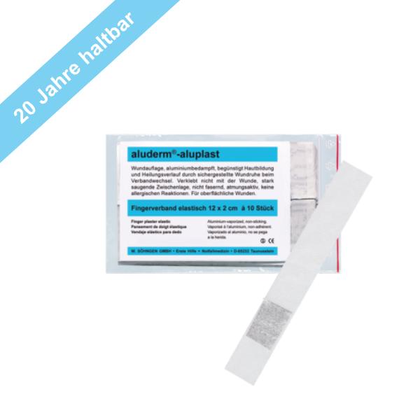 Söhngen aluderm®-aluplast elastisch Fingerverband 12x2cm 10 Stück