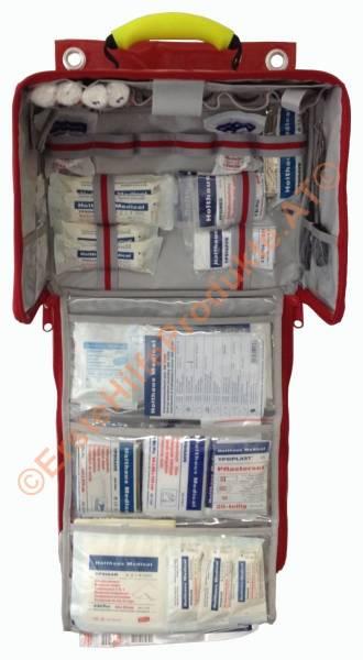 Erste Hilfe Wandtasche Paramedic Typ 2 mit Füllung ÖNORM Z 1020