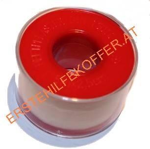 Heftpflaster hautfarben mit Schutzring , 1Rolle/Pkg., 2,5cm x 5m