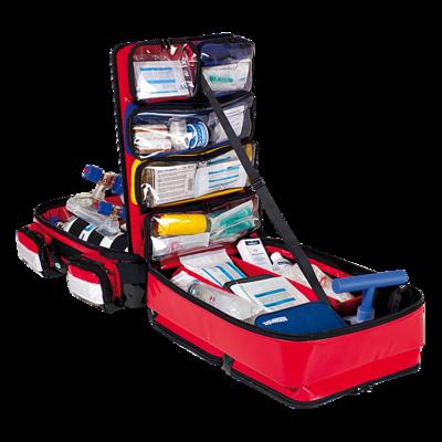 Söhngen PROFiL Notfallrucksack rot gefüllt Modul A+B+C+O2 2L