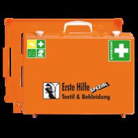 Söhngen Erste Hilfe Koffer Textil & Bekleidung ÖNORN Z1020 mit Erweiterung Textil & Bekleidung