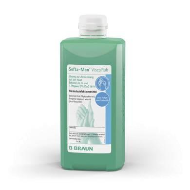 Händedesinfektion Softa-Man ViscoRub 500 ml Spenderflasche