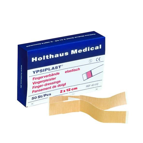 Fingerverband elastisch, hautfarben, 2 x 18 cm, 50 Stück, Holthaus Ypsiplast