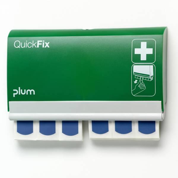 Plum QuickFix Pflasterspender mit 90 detectable Pflastern, 7,2 x 2,5 cm