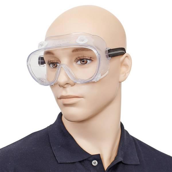 Vollsicht-Schutzbrille mit indirekter Belüftung und Antibeschlag - LAGERWARE -
