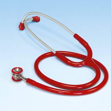Stethoskop Edelstahl ratiomed rot für Babys