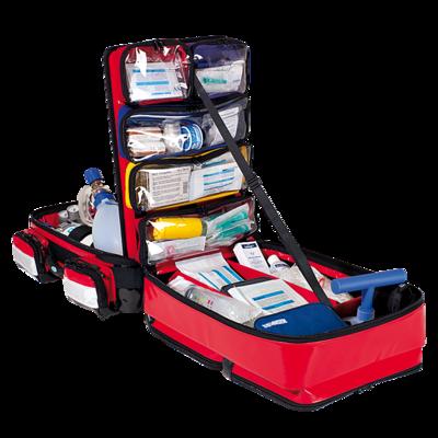 Söhngen PROFiL Notfallrucksack rot gefüllt Modul A+B+O2 1L