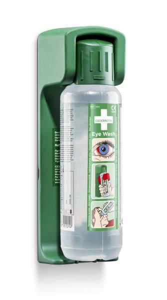 Kombiangebot Cederroth Augenspülflasche + Wandhalterung