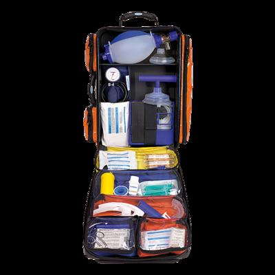 Söhngen NumberOne Notfallrucksack orange gefüllt Modul A+B