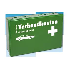Söhngen KFZ-Verbandkasten KU grün mit Füllung Standard DIN 13164