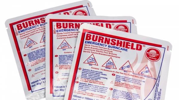 Burnshield Brandwunden-Spezialverband 10x10cm