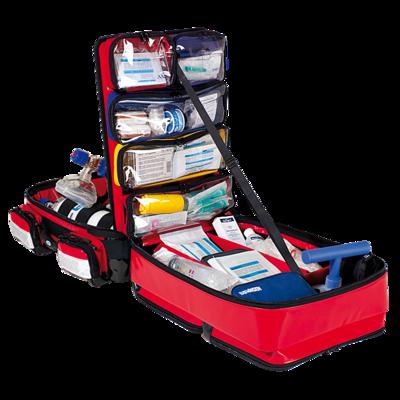 Söhngen PROFiL Notfallrucksack rot gefüllt Modul A+B+O2 2L