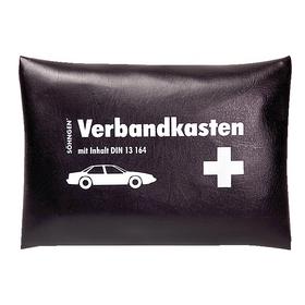 Söhngen KFZ-Verbandkissen schwarz mit Füllung Standard DIN 13164