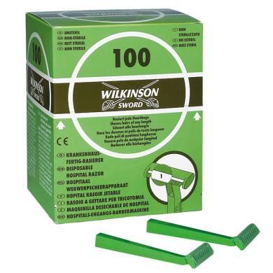 Einmal-Rasierer Wilkinson Typ 182H, unsteril, einschneidig 100 Stück