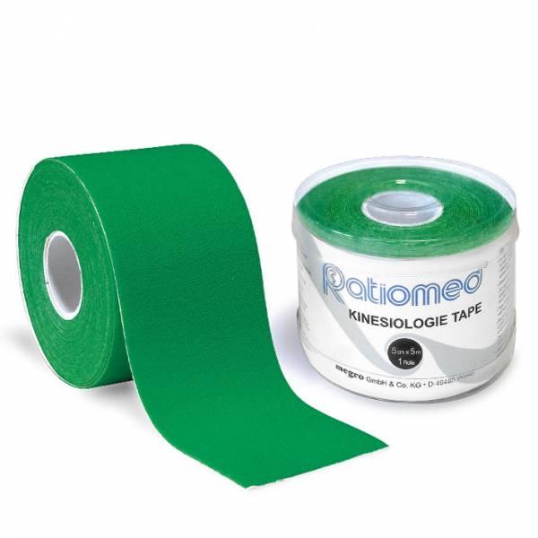 Kinesiologie-Tape ratiomed, grün, 1Stk./Pkg., 5mx5cm