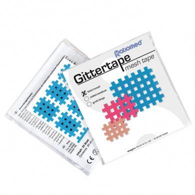 Gittertape ratiomed 27 x 21 mm, blau/klein (20 Blatt à 9 Pflaster)
