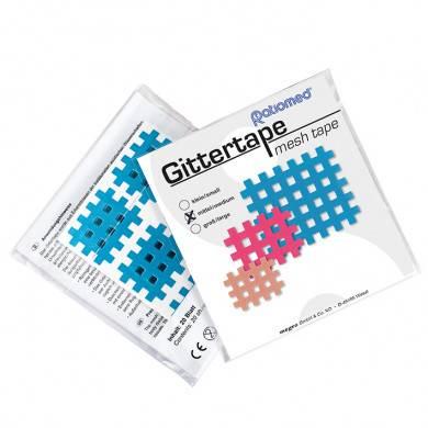 Gittertape ratiomed 36 x 28 mm, blau/mittel (20 Blatt à 6 Pflaster)