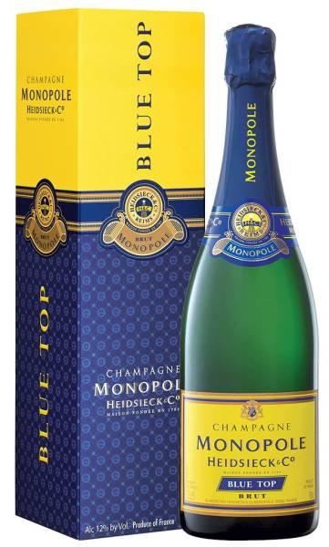 Monopole Champagne Blue Top