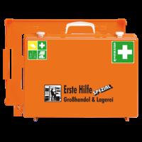 Söhngen Erste Hilfe Koffer Großhandel Lagerei ÖNORM Z1020 mit Erweiterung Großhandel Lagerei