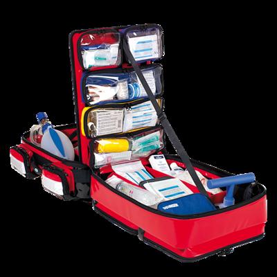 Söhngen PROFiL Notfallrucksack rot gefüllt Modul A+B