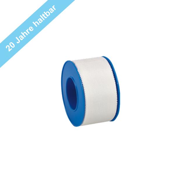 Söhngen Heftpflaster Silk weiß, ohne Schutzring 9,2 m x 2,5 cm, 1 Stück