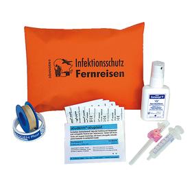 Söhngen Infektionsschutz-Set Fernreisen orange