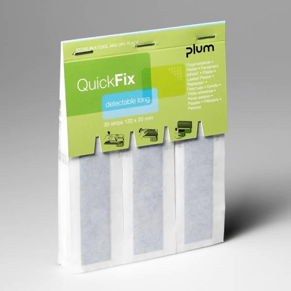 Plum QuickFix Pflasterspender Nachfüllpacks Fingerverbände 30 detectable Pflaster