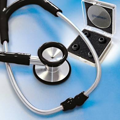 Stethoskop Edelstahl ratiomed schwarz für Erwachsene
