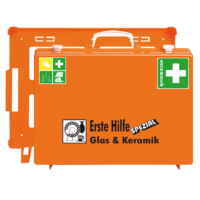 Söhngen Erste Hilfe Koffer Glas & Keramik ÖNORM Z1020 mit Erweiterung Glas & Keramik