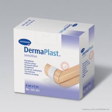 DermaPlast® sensitive 5 m x 4 cm Rollenpflaster
