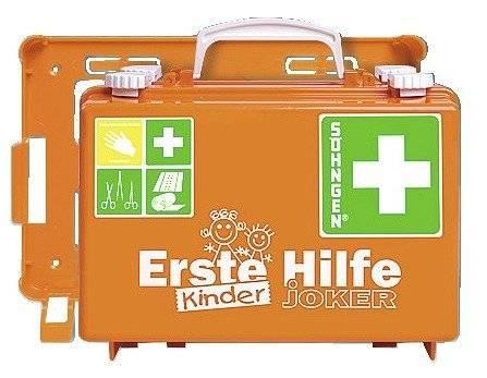 Söhngen Erste-Hilfe-Koffer Kinder JOKER orange NEU