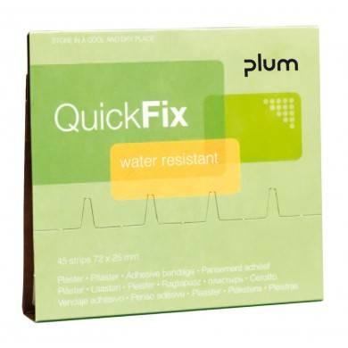 Plum QuickFix Pflasterspender Nachfüllpacks 45 wasserfeste Pflaster