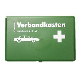 Söhngen KFZ-Verbandkasten leer Kunststoff grün