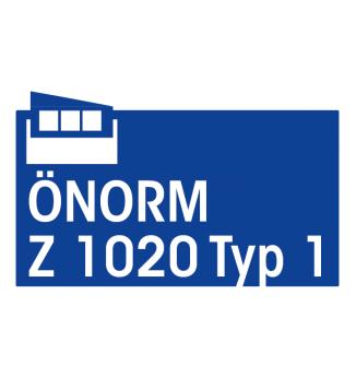 Komplettfüllung für Erste Hilfe Koffer Typ 1 gemäß ÖNORM Z 1020