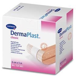 DermaPlast® classic Pflasterrolle 5 m x 6 cm