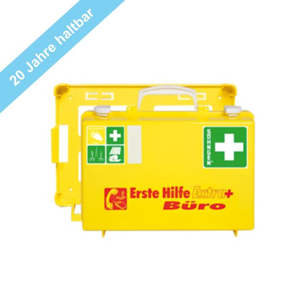 Söhngen Erste Hilfe Koffer ÖNORM Z1020-1 gelb EXTRA plus Erweiterung